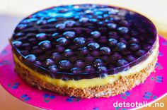 Blueberries Success cake | The sweet life