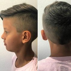 Little Boy Haircuts and Hairstyles 2018 Hairstyles boys Little Boy Haircuts and Hairstyles 2018 One-sided cut and puff style always appears an ideal combination. The same thing is here done in the styling of this little boy's ha Boy Haircuts Short, Little Boy Hairstyles, Toddler Boy Haircuts, Toddler Hair, Hairstyles Haircuts, Weave Hairstyles, Trendy Boys Haircuts, Kids Hairstyles Boys, 2018 Haircuts