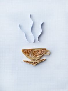 Quilling coffee