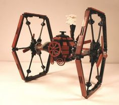 Lego Steampunk Tie Fighter