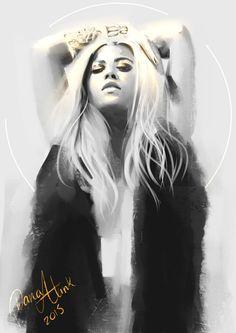 Beyoncé, Dana Alink on ArtStation at https://www.artstation.com/artwork/beyonce-7cba4204-5ae8-4019-be04-50dd38343e79