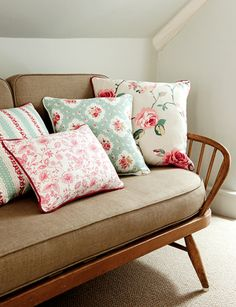Clarke+and+clarke+cushion+display Inspiring DIY Sewing Projects and Textiles