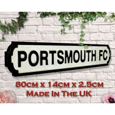 Portsmouth Fc Gifts Kit Fans Play up Pompey Brighton & Hove Albion, Brighton And Hove, Manchester United Old Trafford, Carrow Road, Football Signs, Millwall, Goodison Park, St James' Park