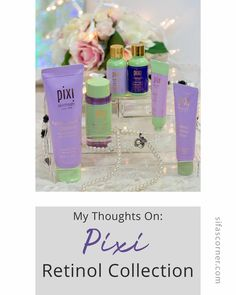 Pixi Beauty Retinol Collection: Which product should you pick and which one should you skip? Read the detailed review here:  #pixibeauty #skincare #retinolproducts #sifascorner Retinol Eye Cream, Jasmine Oil, Purple Color Palettes, Drugstore Skincare, Makeup Storage, Beauty Review, Makeup Remover, Beauty Routines, Pixie