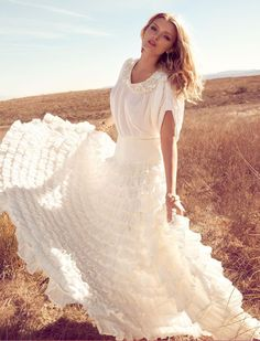 Lily Donaldson by Camilla Akrans for Monsoon S/S 2011 Campaign