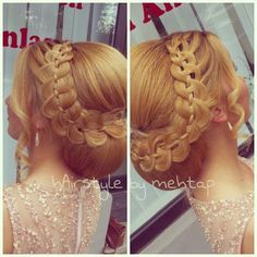 Hairstyle By mehtap. 4st updo