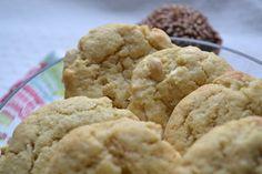 Cookies aux amandes et au chocolat blanc