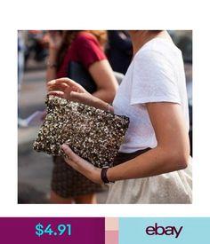 Women's Bags & Handbags Blingbling Sequins Clutch Dazzling Sparkle Evening Bag Wallet Envelope Handbag #ebay #Fashion