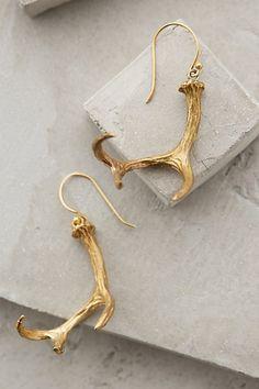 Fun antler earrings #anthrofave http://rstyle.me/n/smq25nyg6
