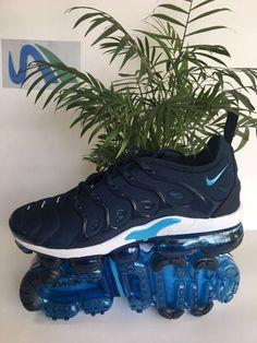 1b1e278dde7d4 Mens Nike AIR VAPORMAX PLUS Running Shoes Blue White,Nike-Air Max 2018 Shoes  Sale Online