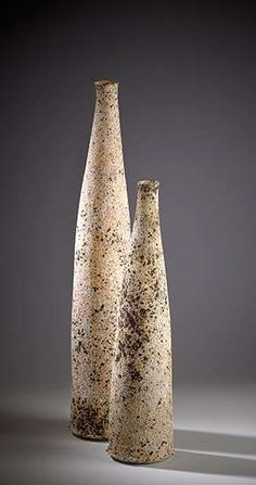 Stephanie Black  |  Low fired decorative ware (2012).  Work is thrown and fired in an electric kiln to 1080oC–1140oC using earthenware and stoneware clays.  I use a Lithium based glaze together with a Vitreous slip containing Silicon Carbide.  For further texture Paperclay is sometimes added to the surface.