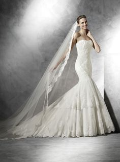 Pronovias Barquilla, Pronovias 2017, wedding dress, bride, transparent dress, nude dress, свадебное платье, невесты, проновиас