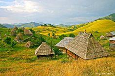 Tičije polje, Ethno village, southwestern Serbia