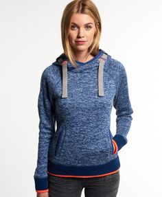 Superdry Storm Cross Neck Hoodie - Damen Hoodies
