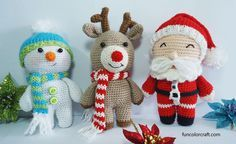 Amigurumi Christmas crochet Patterns Free