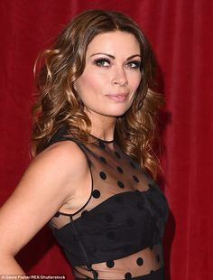 Final countdown: It was announced in May 2015 that, Alison - who has a five-year-old daugh. Female Celebrity Crush, Celebrity Photos, Beautiful Person, Beautiful Women, Coronation Street Cast, Carla Connor, Alison King, Kym Marsh, Amanda Holden