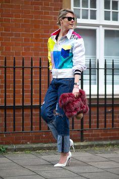 27 Street Style Snaps From London Fashion Week London Fashion Weeks, Fashion Week 2015, Only Fashion, Teen Fashion, Runway Fashion, Fashion Tips, Fashion Trends, London Stil, Autumn Street Style