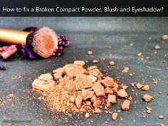 How to Fix Broken Compact Powder, Highlighter, Blush and Eyeshadow? http://www.beautyscoopindia.com/fix-broken-compact-powder-highlighter-blush-eyeshadow/#fixbrokenmakeup #makeup #beautyhack #lifehack