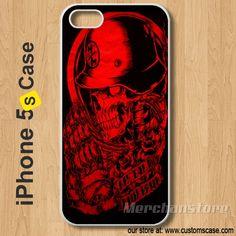 Red Metal Mulisha Custom iPhone 5s Case Cover