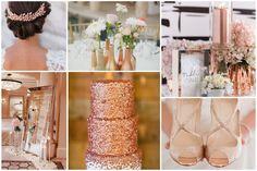 Die 87 Besten Bilder Von Rosegold Hochzeit Wedding Bride Groom