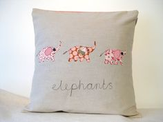 cute idea for mom and bob for christmas....make all of our elephant families!