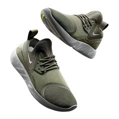 Several more colorways of the Nike #LunarCharge are releasing on December 9th. What do you think of this olive green colorway? For more details on this futuristic hybrid, tap the link in our bio. #kicks0l0gy #kicksoftheday #sneakermates #sneakerwatch #followback