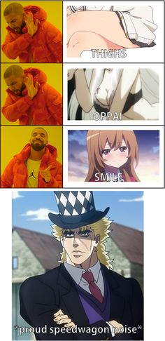 Anime Meme, Otaku Meme, Comic Pictures, Manga Pictures, Funny Pictures, Anime Was A Mistake, Jojo Memes, Quality Memes, Jojo Bizzare Adventure