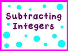 Browse over 210 educational resources created by Kayla Renee' - Bright in the Middle in the official Teachers Pay Teachers store. Math Resources, Math Activities, Math Helper, Subtracting Integers, Algebra Equations, Fun Math, School Stuff, Middle School, School Ideas