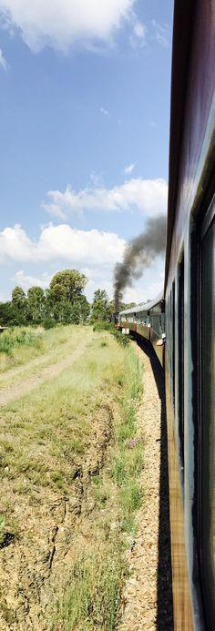 Magaliesburg steam train. Country Roads, Train, Strollers