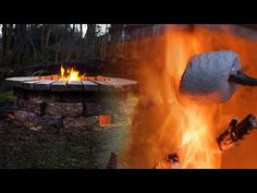 (6) Budget-Friendly Fire Pit - YouTube