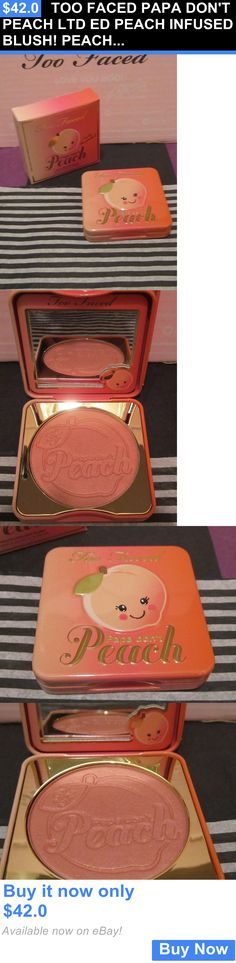 Makeup Sets and Kits: Too Faced Papa Dont Peach Ltd Ed Peach Infused Blush! Peach Scented~Online Only BUY IT NOW ONLY: $42.0