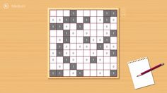 A fresh medium Takuzu puzzle.  Visit the Windows Store to download the game: http://apps.microsoft.com/windows/app/takuzu-free/5db14b31-2442-4903-9196-049151a06d6d