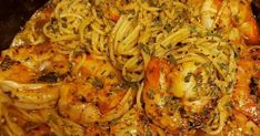 Cajun Shrimp Scampi with a spicy and rich cream sauce. This is a quick and easy dinner recipe with just the right amount of kick! Tender whole shrimp smoth Cajun Shrimp Scampi Recipe, Shrimp Scampi Ingredients, Shrimp Scampi Pasta, Garlic Shrimp Pasta, Shrimp Recipes, Pasta Recipes, Pepper Shrimp, Cajun Recipes, Chicken Recipes