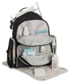 Graco Gotham Smart Organizer System Back Pack Diaper Bag