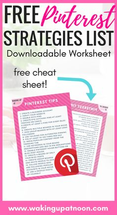 Free pinterest cheat sheet | How to get followers on pinterest and how to get lots of views and traffic from pinterest. These are my top tips for bloggers and websites who want to go viral on pinterest and my advice on how to use pinterest #pinterest #bloggers #pinterestcourse #pinteresttips #pinning #pins #blogging #marketing #affiliate #blogtips