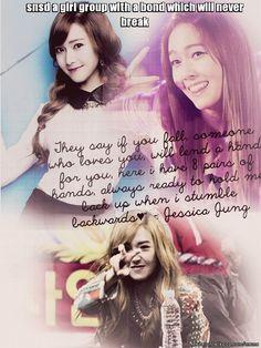 SNSD Jessica quote Girls Generation