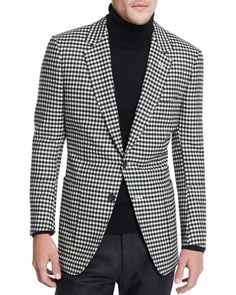 195e9ce62e8a TOM FORD Buckley Base Large-Gingham Sport Coat