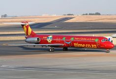 McDonnell Douglas MD-82 DC-9-82 (1TIME)   África do Sul Jet, Aviation, Aircraft, Africa, Planes, Memories, Airplanes, Memoirs, Souvenirs
