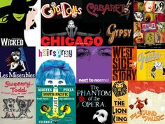 Broadway and stage shows