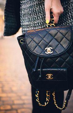 Chanel backpack | weer eens wat anders dan een 2.55, hebben!