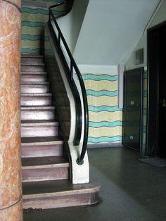 Modernist foyer - Lisbon.