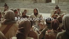 Everyone can find peace, hope, love, and joy BECAUSE OF HIM. Amazing, uplifting video.