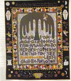 T. Pruitt mourning quilt