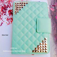 Mint iPad mini case,iPad mini smart cover,studded iPad stand cover – ArtifyCase