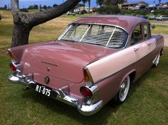 1960 Holden FB Special Sedan, manufactured in Australia by General Motors Holden G.M.H. Featured a 6 Cylinder petrol engine with 3 speed column manual gear change. This vehicle is fitted with optional Nasco accessories.  v@e.