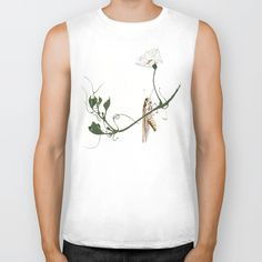 Buy Grasshopper on Gourd Vine B Biker Tank by artysmedia. Worldwide shipping available at Society6.com. Just one of millions of high quality products available.