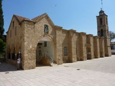 Agios Ioannis Cathedral in Lefkosia (Nicosia) within the old city walls is built on the site of the 14th century chapel of the Benedictine Abbey of Agios Ioannis the Evangelist of Bibi. Archbishop Nikiforos rebuilt the monastery chapel from its foundations in 1662.