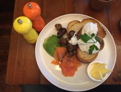 New lease of life for an old railway station Poached Eggs, Smoked Salmon, Avocado, Stuffed Mushrooms, Canning, Big, Breakfast, Brown, Ethnic Recipes
