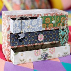 decoupage a box...