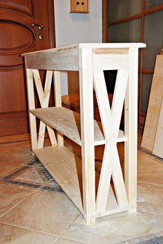 DIY проект: Консольный столик своими руками
